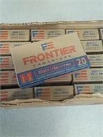 500 rounds Hornady Frontier 223 REM ammo