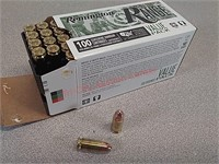 100 rounds Remington 9 mm ammo ammunition