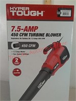 New hyper tough 7.5 amp electric blower - new in