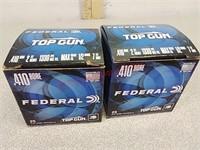 50 rounds Federal 410 shotgun shells ammo