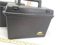 2 Plano plastic ammo boxes