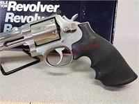 Smith & Wesson model 686 357 revolver handgun -