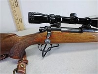 Remington model 700 270 win rifle gun with Tasco