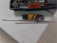 Stanley mobile work center w/ gun cleaning