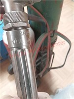 Oxy acetylene torch set on cart, w/Smith torch