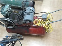Sears air compressor, set up for 220, not tested