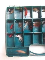 Fishing lures in case