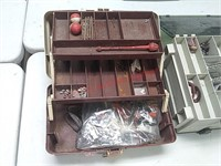 3 tackle boxes w/contents