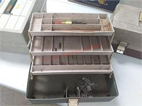 4 tackle boxes w/ contents