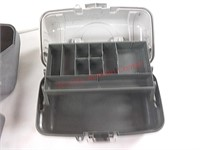 2 tackle boxes w/contents