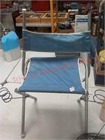Folding seat, bait buckets, trap