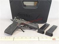CZ 75 SP-01 tactical 9 mm pistol handgun with (2)