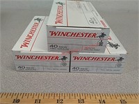 150 rds 40 s&w fmj Winchester ammo ammunition