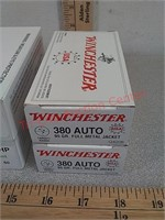 200 rds 380 auto reload and Winchester ammo