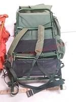 2 hiking backpacks