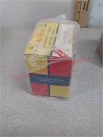 Vintage shotgun shell full & empty boxes