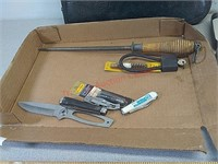 Cleaning kit, knives, & etc