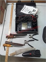 Eagle Magna II Fishfinder, fillet knives and more