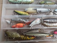 Fishing lures – Heddon, Rapala and others