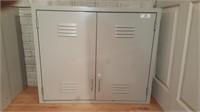 Metal cabinet - 2 door wall mount 48x30x12