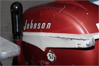 Boat motor - Johnson Seahorse 5.5hp