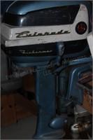 Boat motor - Evinrude Fisherman 5.5