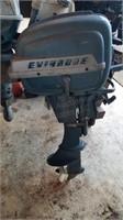 Boat motor - Evinrude Fisherman 7.5