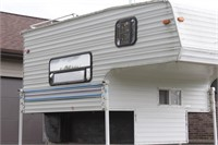 KZ Sportsmen 8' + overhead truck camper