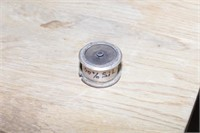 ** Gold filling, silver filling & round silver box