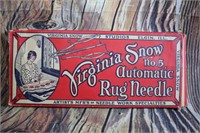Vintage Automatic Rug Needle and Clothes Brush