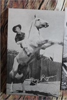 Set of 4 Vintage Cards Roy Rogers