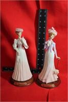 Beautiful Figurines lot of 2