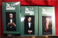 VHS The Godfather 25th Anniversary Series Set