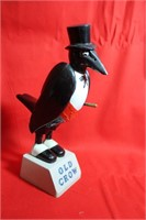 Vintage Old Crow Advertisement Statue