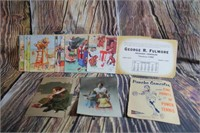 Antique Post Cards and Vintage Calendar Pictures