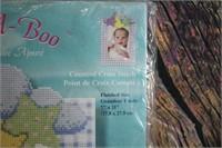 Janlynn Peek A Boo Cross Stitch Kit NEW