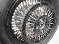 H.D Custom Thick Spoke Wire Wheels -
