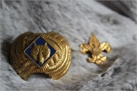 Boy Scout Necktie Clip and Pin