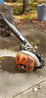 Stihl br550 gas powered Backpack Blower, good