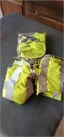 3 image Solutions hi-vis zippered vest, size XL