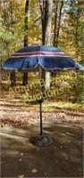 Patio umbrella and stand