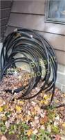Assorted black water line tubing