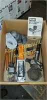 Assorted lead and bullet casting molds and