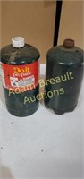 2 do it propane canisters, new