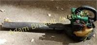 Weedeater Featherlite FL 1500 gas powered blower,