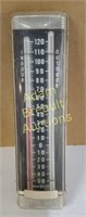 Vintage indoor outdoor made in USA thermometer