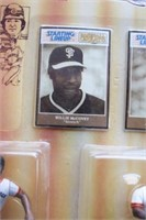 Starting Line Up - Willie McCovey & Willie Mays