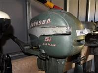 Johnson 5.5HP Seahorse Model CD-12 SN: 1279816