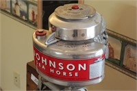 Johnson LT39 Seahorse labeled 1939 restored w/stnd