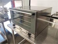 Cadco UNOX Countertop Half Size Convection Oven